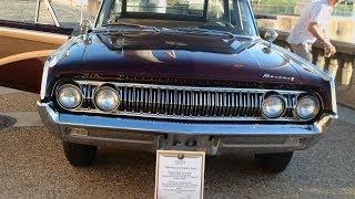 1964 Mercury Colony Park Station Wagon Maroon LakeMirrorA101913