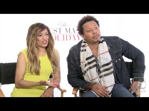 THE BEST MAN HOLIDAY Terrence Howard & Melissa De Sousa on Obama Care & favorite Christmas Movies