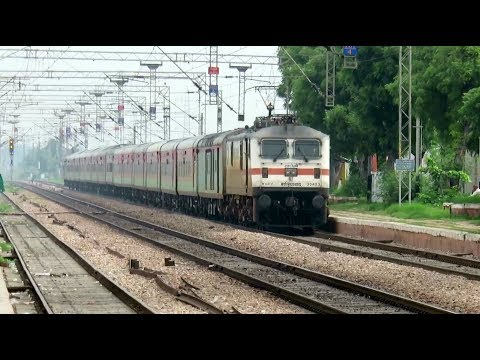 Thumbnail: [11 in 1] Morning High Speed Trains : Gatimaan + Bhopal Shatabdi + Mumbai Rajdhani and many more