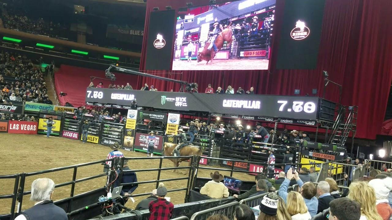 Professional bull riders jan 6 2 018 madison square garden youtube for Bull riding madison square garden