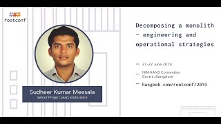 Sponsored talk: Decomposing a monolith -- engineering and operational strategies we have gleaned from our experience at Endurance