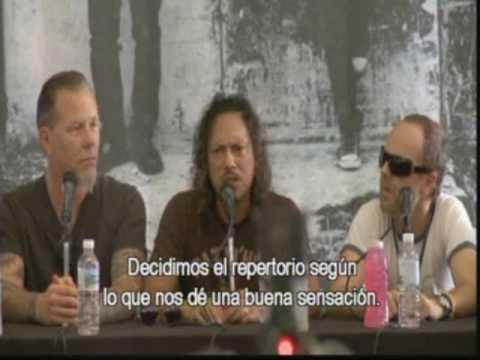 ****Metallica  Robert Trujillo speaking in...