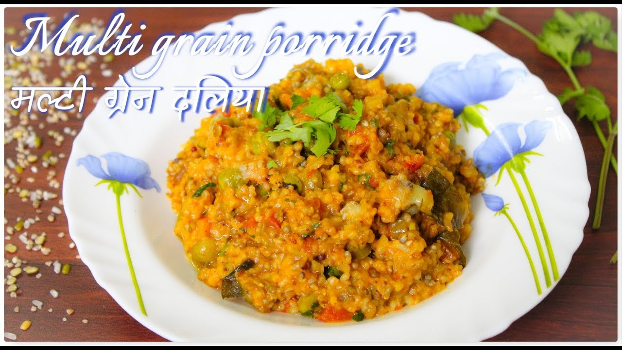 Patanjali Multi-grain porridge in pressure cooker|प्रेशर कुकर में बनाये मल्टी ग्रेन दलिया|Madhuri&#0