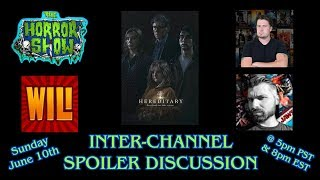 """Hereditary"" Spoiler Discussion w/ CODY LEACH, WILL I LIKE IT REVIEWS & SINISTER CINEMA REVIEWS"