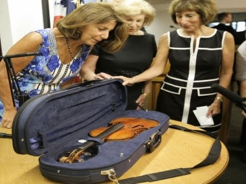 Stradivarius Violin Recovered After 35 Years