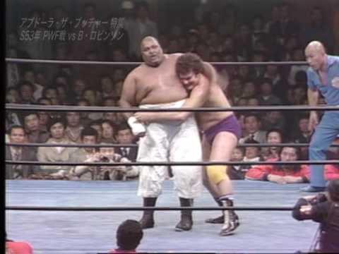 AJPW - Abdullah The Butcher vs Billy Robinson