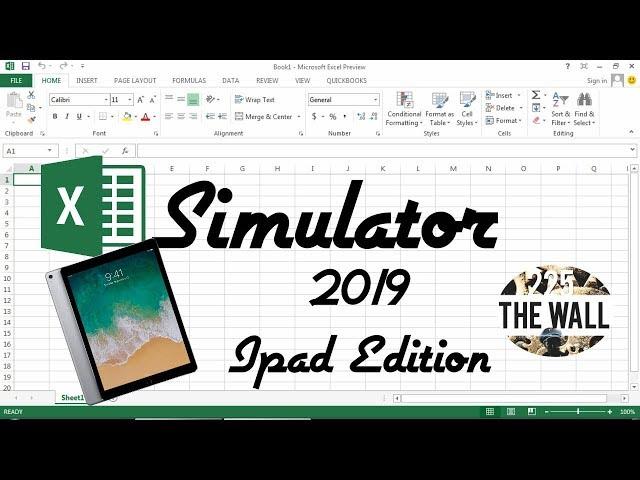 Excel Simulator 2k19 [Progetti 2019] - iPad Edition