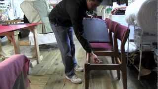 How To Upholster Dining Room Chairs.mov