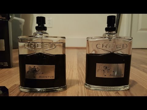 4fee482edb21 Fake Creed Aventus vs. Real Creed Aventus - YouTube