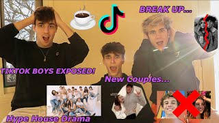 TikTok Boys Photos Leaked! #TeaTok Jaden Hossler Break-Up?! Hype House Drama?!