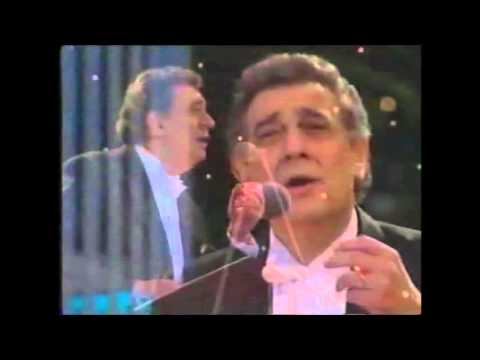 Plácido Domingo - Arias & Medleys - Wembley Stadium 1996 (The Three Tenors, London)