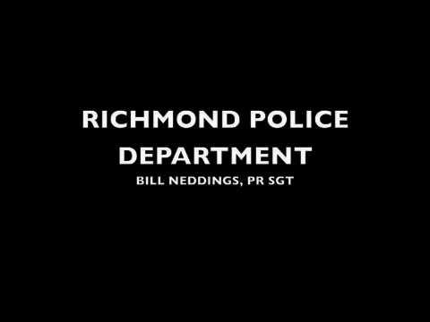 Richmond PD - Public Service Announcement