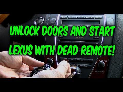 Lexus Car Key Battery Dead