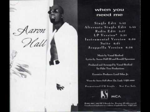 Aaron Hall - When You Need Me (Instrumental)