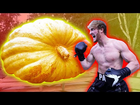 LOGAN PAUL VS. THE WORLD'S BIGGEST PUMPKIN!