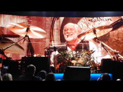 WORLD TURNING WITH DRUM SOLO Fleetwood Mac 4/6/15 Rabobank Arena, Bakersfield, CA