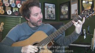 You Could Be Happy by Snow Patrol - Guitar Lessons for Beginners Acoustic songs