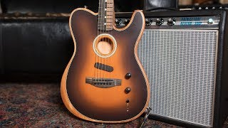 Fender American Acoustasonic  Telecaster | First Impressions with Todd Wisenbaker