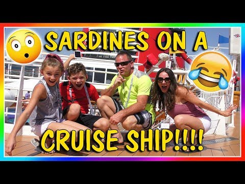 SARDINES ON A DISNEY CRUISE SHIP | HIDE AND SEEK | We Are Th