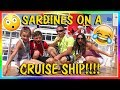 SARDINES ON A DISNEY CRUISE SHIP | HIDE AND SEEK | We Are The Davises の動画、Y…