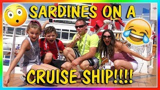 SARDINES ON A DISNEY CRUISE SHIP | HIDE AND SEEK | We Are The Davises