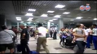 مطار الغردقه الدولى يستقبل 7100 سائح على 40 طائره
