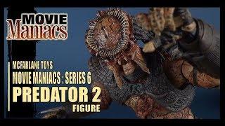 Toy Spot   McFarlane Toys Movie Maniacs Series 6 Predator 2 Predator Figure