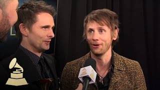 Muse   Backstage Interview   58th GRAMMYs