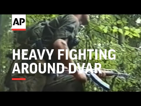 Bosnia - Heavy Fighting Around Dvar