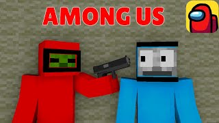Monster School : AMONG US #2 - Minecraft Animation