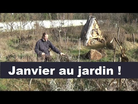 que faire au jardin en janvier youtube. Black Bedroom Furniture Sets. Home Design Ideas