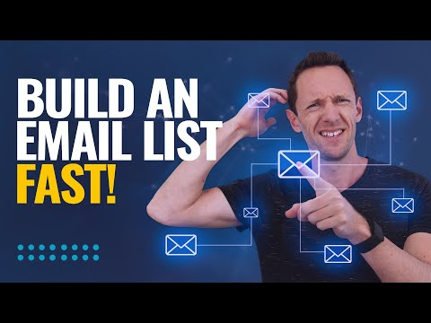 How to Build an Email List FAST (Automated List Building Strategies!)