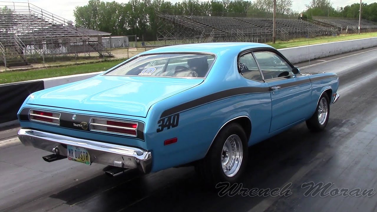Plymouth Duster Drag Racing All Mopar Cpc 2014 Youtube