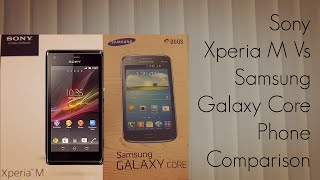 Sony Xperia M Vs Samsung Galaxy Core Phone Comparison Display Video Playback Camera - PhoneRadar(Full Details on the website : http://PhoneRadar.com Phone Finder : http://PhoneRadar.com/gadgets ~~## Follow Amit Bhawani on Social Media ..., 2013-08-18T10:30:09.000Z)