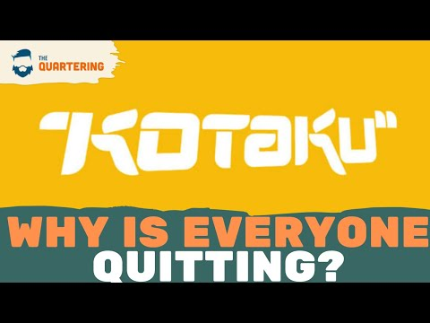 People Keep Quitting Kotaku & I Think I Know Why