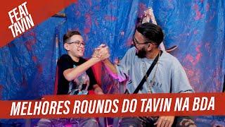 MELHORES ROUNDS DO TAVIN NA BDA feat. Tavin   Tags BDA
