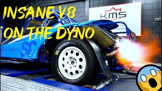 KMS Insane V8 buggy +520HP at 9000rpm