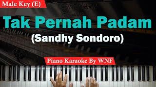 Sandhy Sondoro - Tak Pernah Padam Karaoke Lower Key/Pria