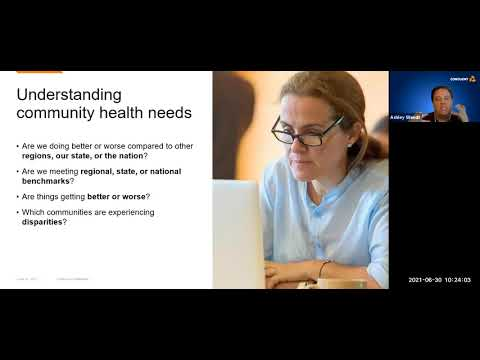 Conduent & Kane County @ NACCHO: Building Community Resilience through the MAPP Framework