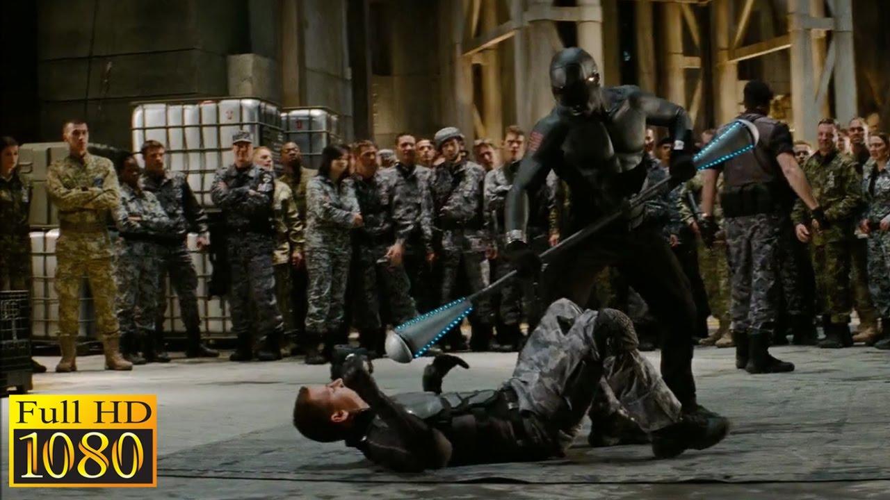 G I Joe Rise Of Cobra 2009 Duke Rip Cord Training Test Scene 1080p Full Hd Youtube