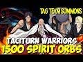 UNBELIEVABLE! 500 SPIRIT ORBS FOR TT YAMA, IZURU and SHUHEI TACITURN WARRIORS Bleach Brave Souls