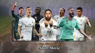 Real madrid movie - campeónes 2019/20 34 ligas