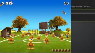 Gameplay / crazy chicken soccer