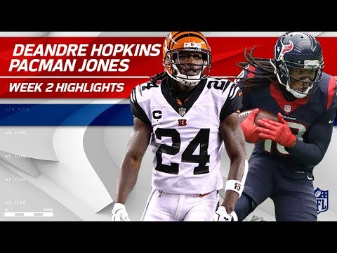 DeAndre Hopkins vs. Adam 'Pacman' Jones | Texans vs. Bengals | NFL Wk 2 Player Highlights