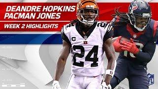 DeAndre Hopkins vs. Adam 'Pacman' Jones | Texans vs. Bengals | NFL Wk 2 Player Highlights