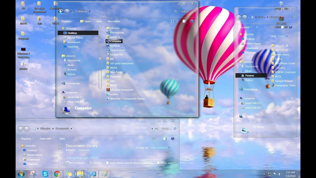 windows 7 2018 edition theme download