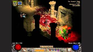 Diablo 2 LoD Necromancer The Seven Tombs Quest on Hell 1/4