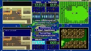 060818. FF4: Free Enterprise Randomizer Race