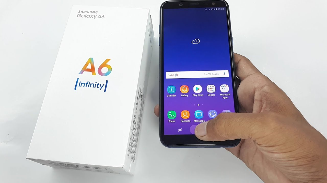 Samsung Galaxy A6 Unboxing And Review Youtube
