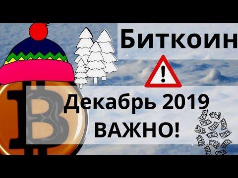 Биткоин Декабрь 2019 ВАЖНО! По версии криптокалендарей